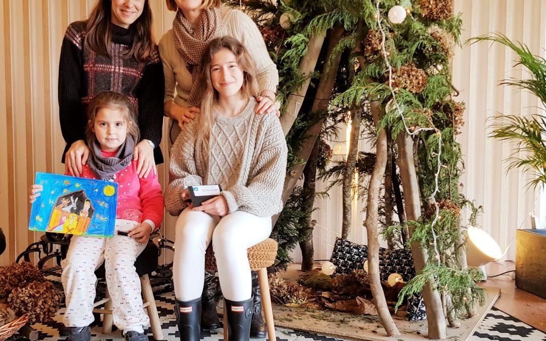 DOS ALUMNAS DE ZUMAIENA, GANADORAS DEL CONCURSO DE CHRISTMAS