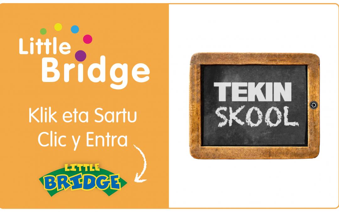 LITTLE BRIDGE ON-LINE PLATAFORMAN SARTZEKO URRATSAK