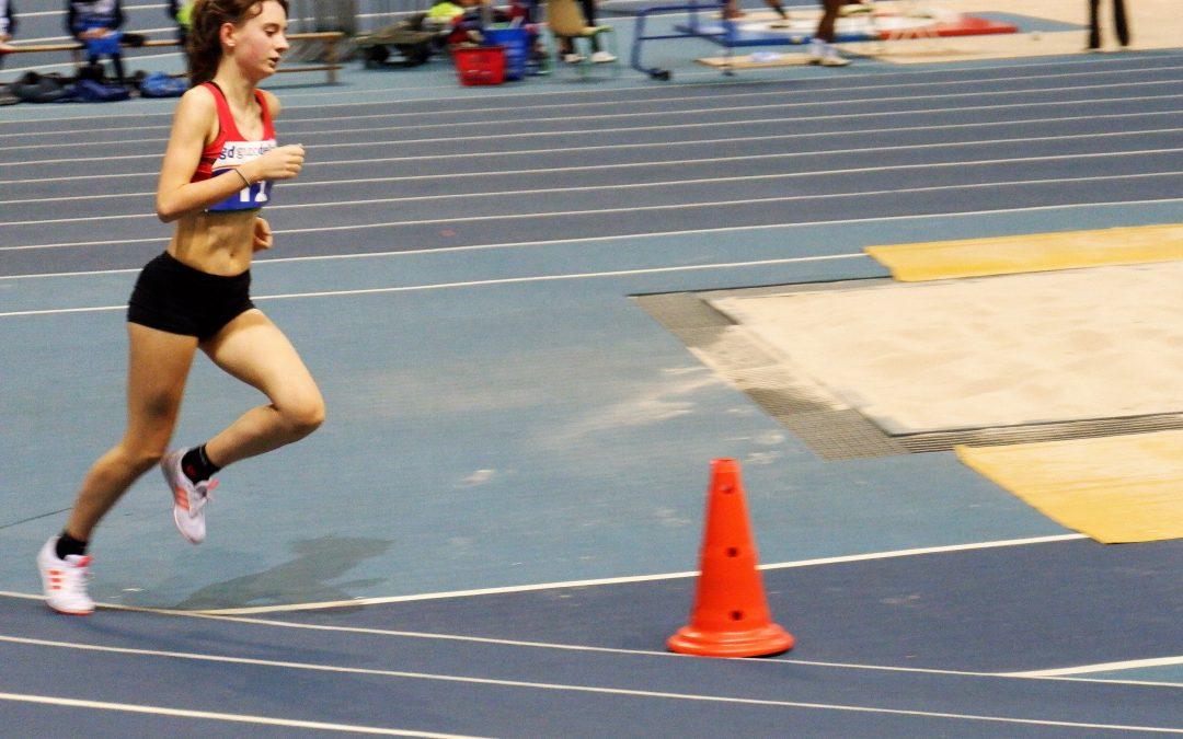 Sara Mancisidor al Campeonato de España de 1500 metros