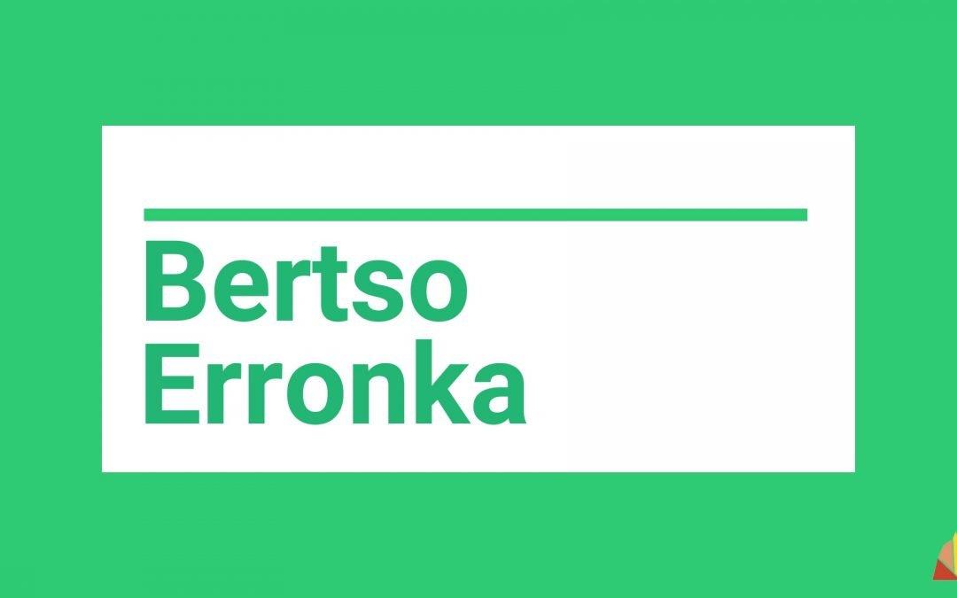 BERTSO ERRONKA